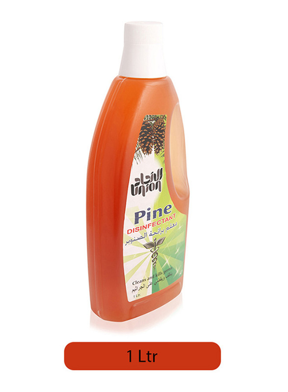 Union Pine Disinfectant Cleans and Kills Germs, 1 Liter