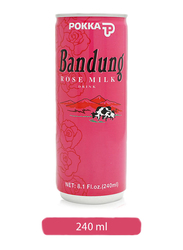 Pokka Bandung Rose Milk Drink, 240ml