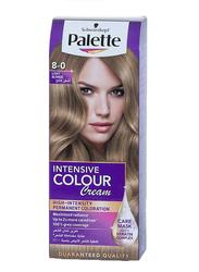 Palette Intensive Color Cream for All Hair Type, 8-0 Light Blonde, 50ml