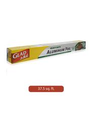 Glad Heavy Duty Aluminum Foil, 37.5 sq.ft.