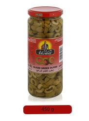 Figaro Sliced Green Olives Pickle, 230g