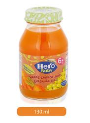 Hero Baby Grape & Carrots Juice, 130ml