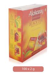 Alokozay Finest Selection Black Tea, 100 Tea Bags x 2g