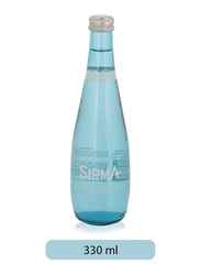 Sirma Natural Sparkling Water Glass Bottle, 330ml