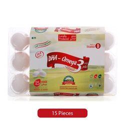 Ova Plus DHA Omega 3 Egg, 15 Pieces
