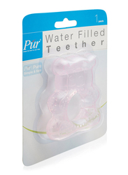 Pur Water Filled Bear Teether, Pink