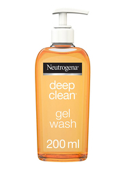 Neutrogena Deep Clean Facial Gel Wash, 200ml
