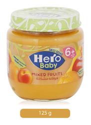 Hero Baby Mixed Fruits Jar, 125g