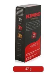 Kimbo Napoli Nespresso Compatible Coffee, 57g
