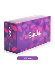 Fine Smile Smooth White Tissue, 150 Pieces x 2Ply