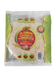 El Sabor Wholemeal Tortilla Wrap, 360g