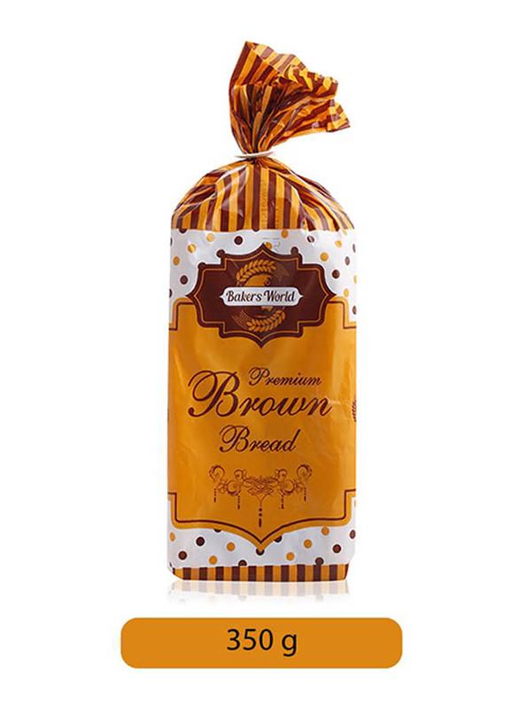Bakers World Premium Brown Bread, 350g