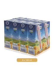 Lacnor Essentials Orange Fruit Juice Drink, 8 x 180ml