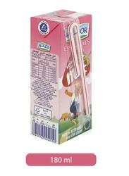 Lacnor Strawberry Milk Drink, 180ml
