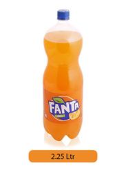 Fanta Orange Soft Drink Bottle, 2.5 Liter
