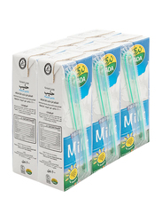 Nada Long Life Full Cream Milk, 6 x 200ml
