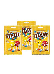 M&M'S Mini Peanuts Candies, 3 Pieces x 100g
