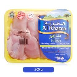 Al Khazna Fresh Chilled Boneless Thighs, 500 grams