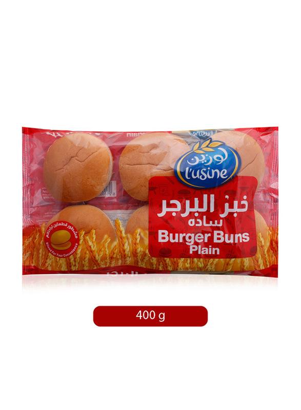 Lusine Burger Bun Plain, 400g