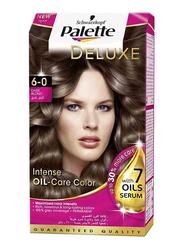 Palette Deluxe Intense Oil Care Color, Dark Blond 6-0, 50ml
