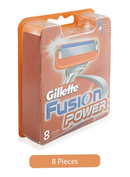 Gillette Fusion Power Razor Blades for Men, 8 Pieces