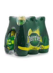 Perrier Mineral Lemon Water, 6 Bottles x 200ml