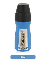 Fogg Status Deodorant Roll-On for Men, 50ml