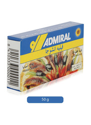 Admiral Anchovy Fillets in Sunflower Oil, 50g