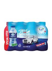 Al Ain Zero Drive like a Winners Mineral Water, 12 Bottles x 330ml