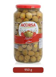 Acorsa Stuffed Green Olives, 950g
