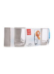 Bormioli Rocco 3-Pieces Loto Water Glass Set, Clear