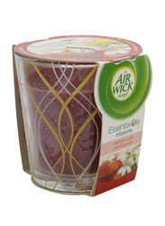 Air Wick Essential Oils Infusions Oriental Elixir Fragranced Candle, 105ml, Red