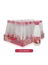 Star Litchi Flavored Juice Drink, 24 Bottles x 250ml
