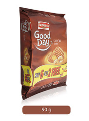 Britannia Good Day Cashew Cookies, 8 Pieces x 90gm