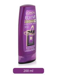 L'Oreal Paris Elvive Keratin Straight Conditioner for All Hair Types, 200ml