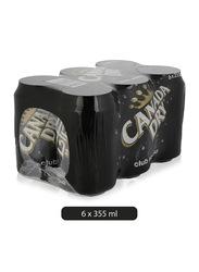 Canada Dry Clud Soda, 6 Cans x 355ml