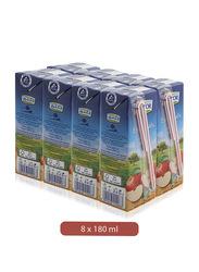 Lacnor Essentials Apple Fruit Juice Drink, 8 x 180ml
