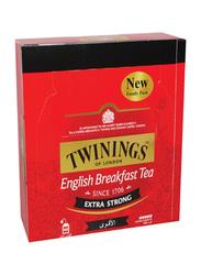 Twinings of London Extra Strong English Breakfast Tea Bag, 100 Tea Bags x 2g