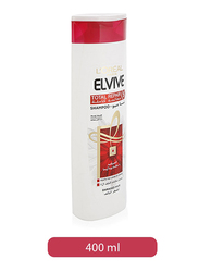 L'Oreal Paris Elvive Total Repair 5 Repairing Shampoo for All Hair Types, 400ml