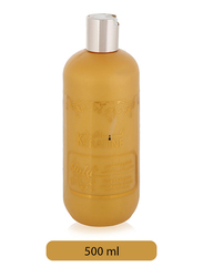 Keratine Gold Hair Shampoo for Women for All Hair Types, 500ml
