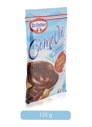 Dr. Oetker Creme Ole Chocolate and Nut Flavored Cream Dessert, 125g