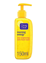Clean & Clear Morning Energy Skin Brightening Facial Wash, 150ml
