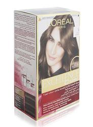 L'Oreal Paris Excellence Creme Hair Color, 5 Light Brown, 100gm