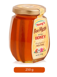 Young's Bee Hives 100% Pure Natural Honey, 250g