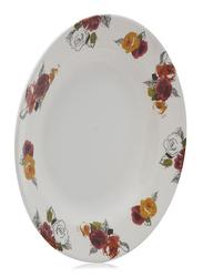 Servewell 23cm Melamin Round Soup Plates, White