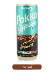 Pokka Cappuccino Coffee Drink, 240ml