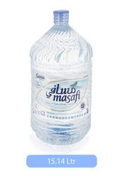Masafi Mineral Water, 4 Gallon x 15.14 Liter