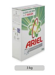 Ariel Automatic Original Scent Laundry Powder Detergent, 3 kg