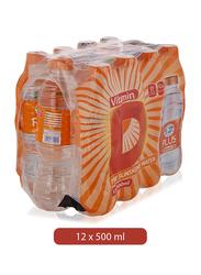 Al Ain Plus Vitamin D The Sunshine Mineral Water, 12 Bottles x 500ml