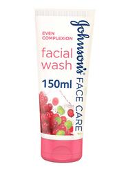 Johnson's Even Complexion Facial Wash, 150ml